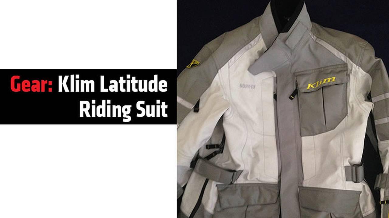 Gear: Klim Latitude Riding Suit
