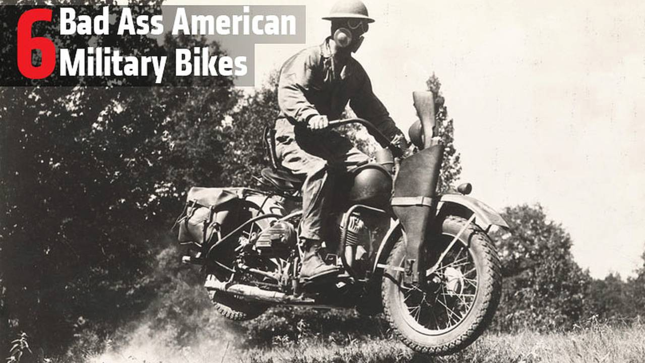 6 Bad Ass American Military Bikes