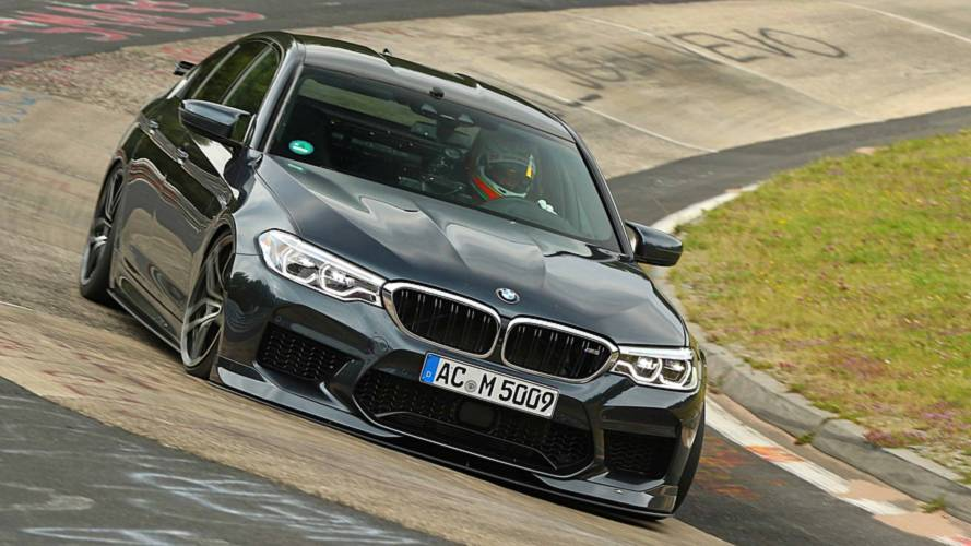 Watch AC Schnitzer Set BMW M5 Nurburgring Record In Onboard Video