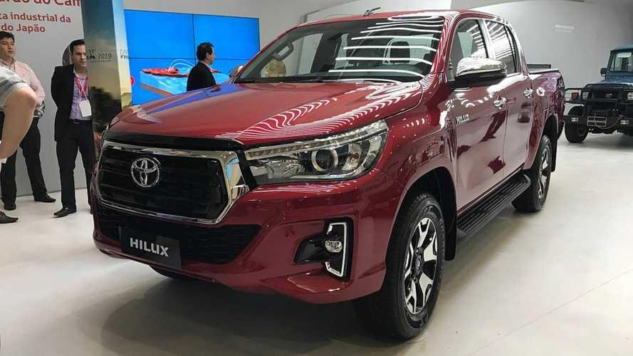 Toyota lança nova Hilux 2019 com preço inicial de R$ 111.990