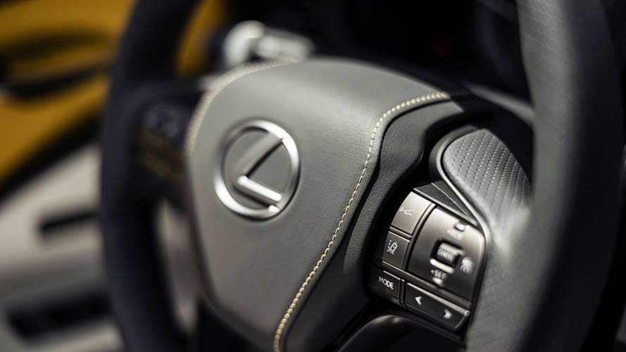2019 Lexus LC 500 Inspiration concept