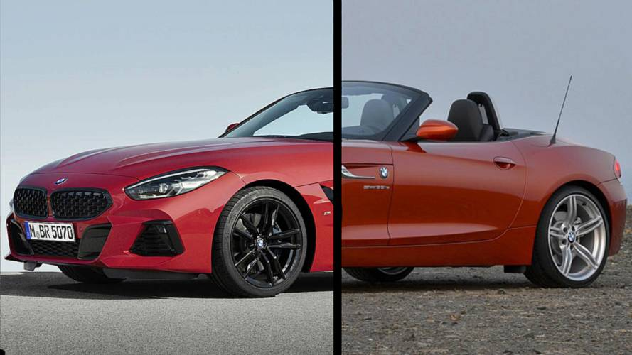 2019 BMW Z4: See The Changes Side-By-Side
