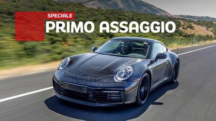 Porsche 911, i primi chilometri con la nuova generazione