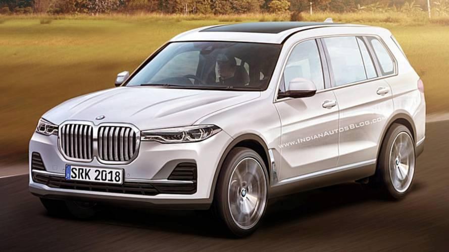 BMW X7: fotos filtradas desde la oficina de patentes (actualizado)