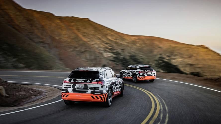Audi E-Tron prototype at Pikes Peak