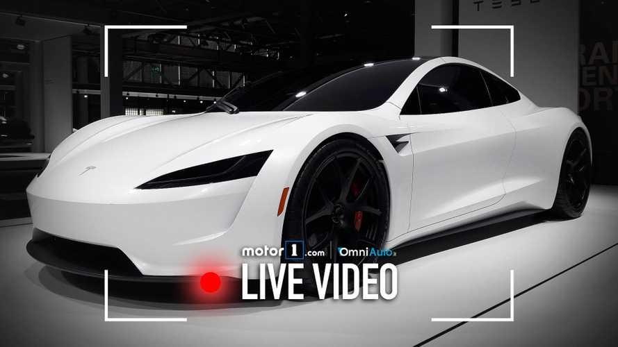 Tesla Roadster, ecco il bolide elettrico da 400 km/h