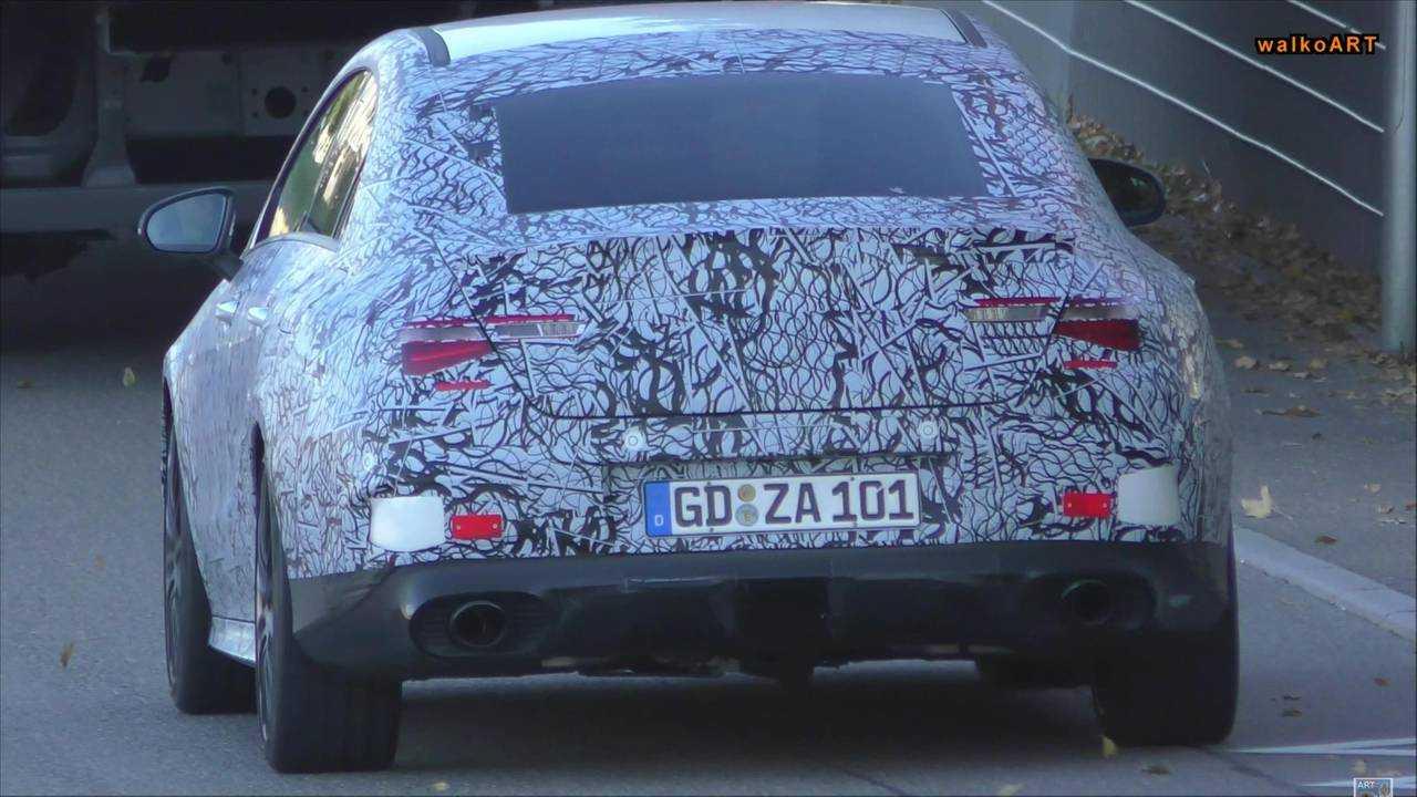 Mercedes-AMG CLA35 Spy Video