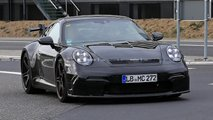 Porsche 911 GT3 (2020) en photos espion