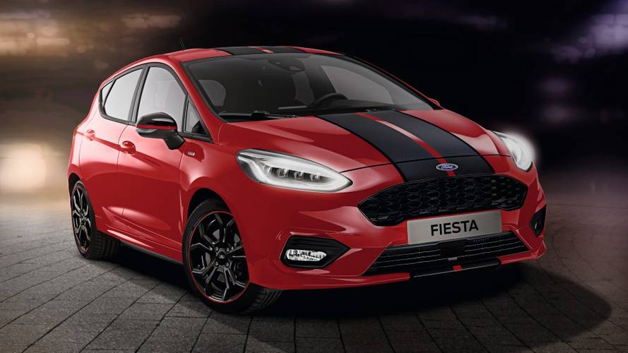 2019 Ford Fiesta ST-Line Red ve Black Versiyonları