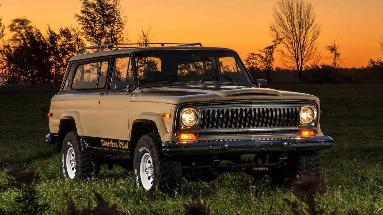 Jeep Cherokee, le foto storiche