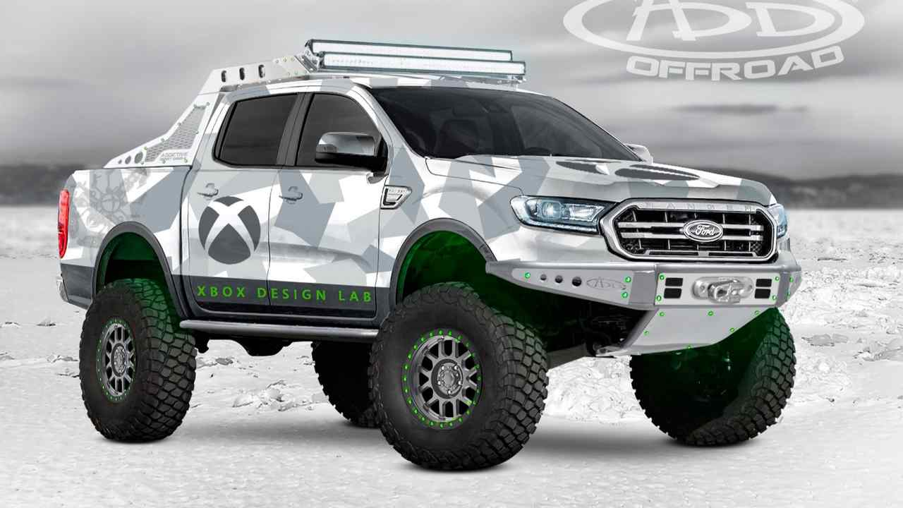 Xbox Ford Ranger da Addictive Desert Designs