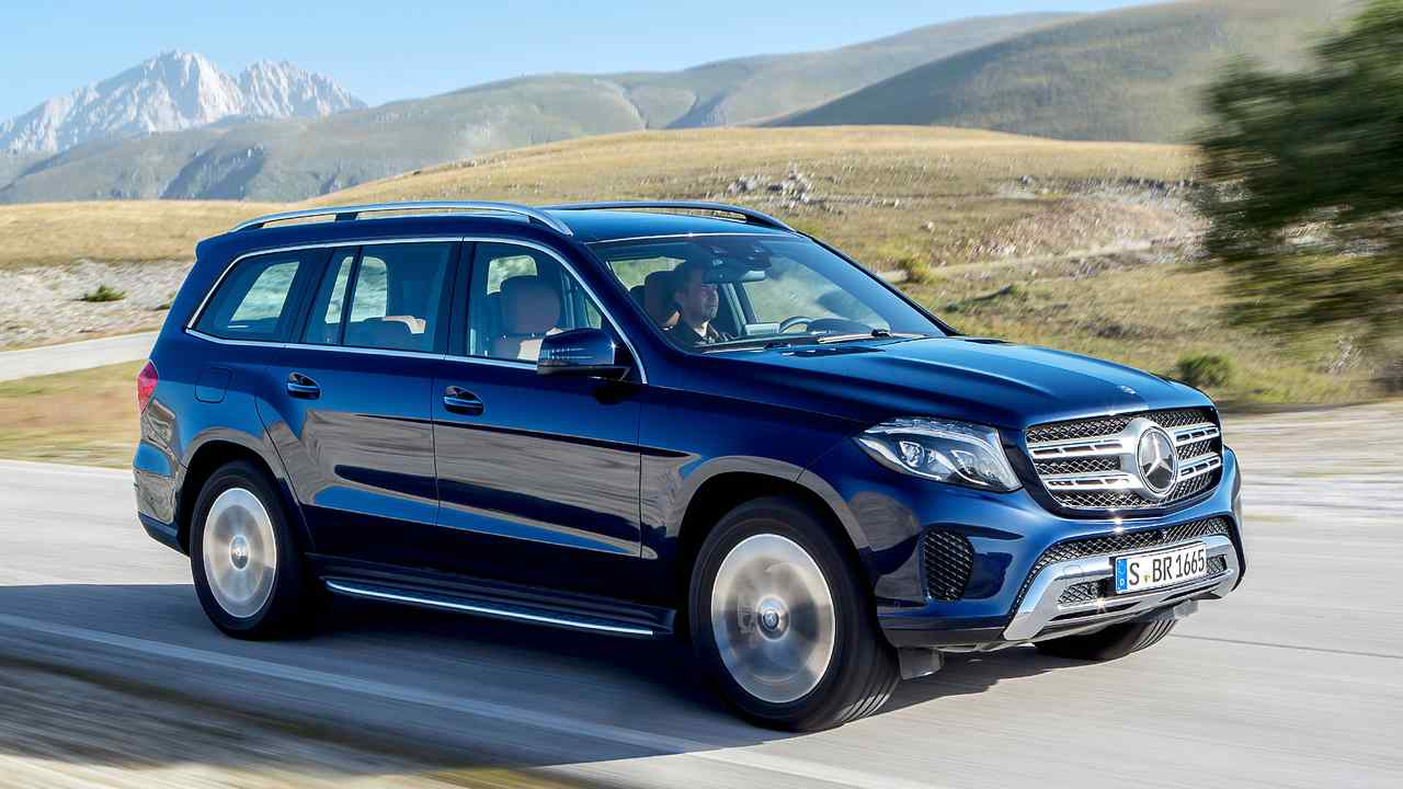 Mercedes GLS, auslaufende Version (5,13 Meter)