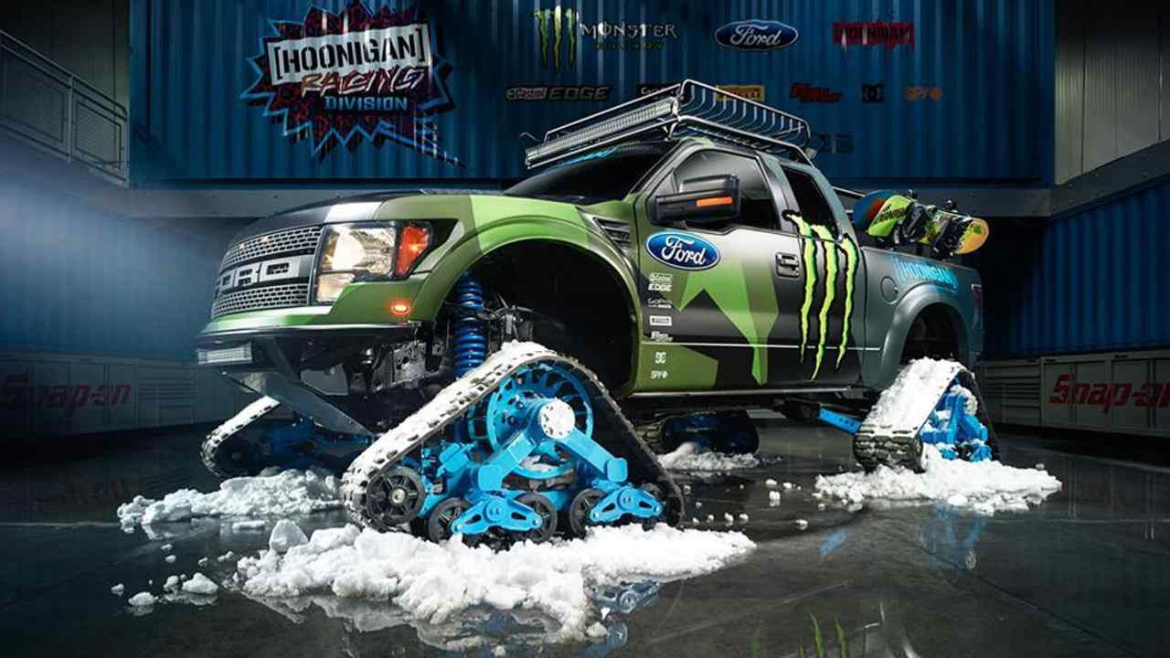 Ford F-150 RaptorTRAX 2013
