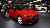 Audi A1 at the Paris Motor Show