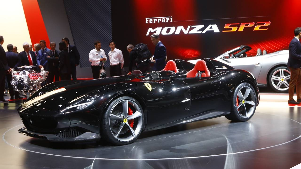 Car Seat Cover Design >> Ferrari Monza SP1, SP2 Speedsters Arrive In Style For ...