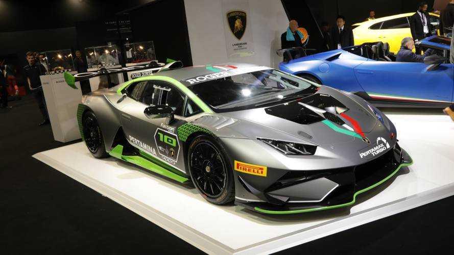 Lamborghini al Salone di Parigi 2018