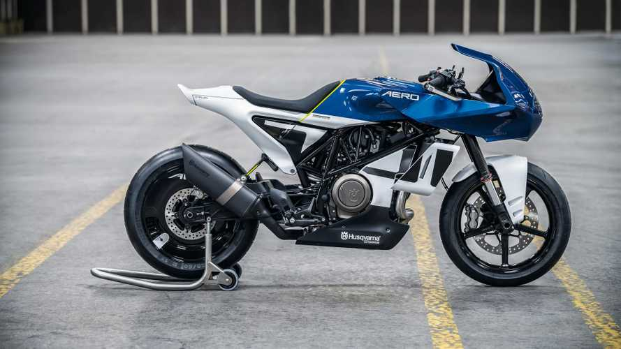 Husqvarna's Vitpilen 701 AERO Concept Is A Vision In Blue