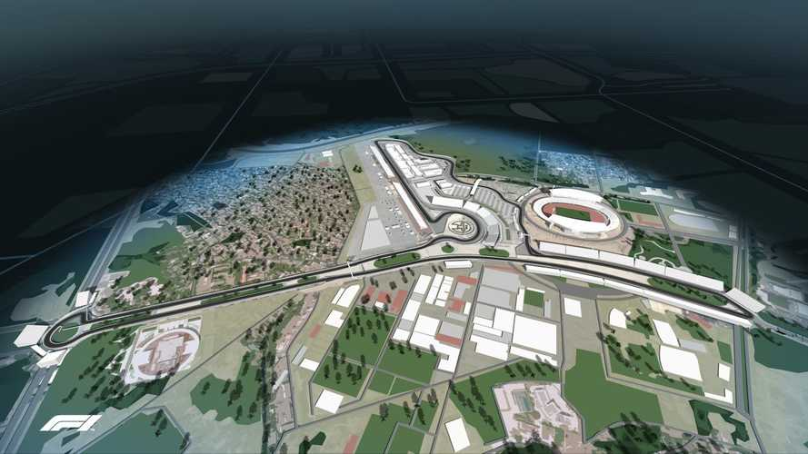F1 Reveals 2020 Vietnam GP Track Map