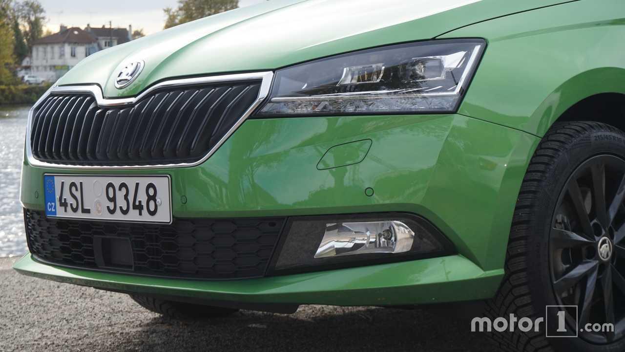 Škoda Fabia restylée