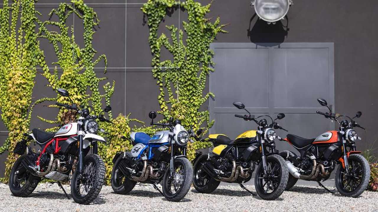 New Ducati Scrambler Variants