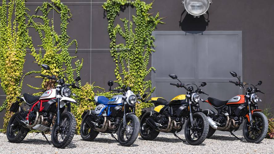 New Ducati Scrambler Variants