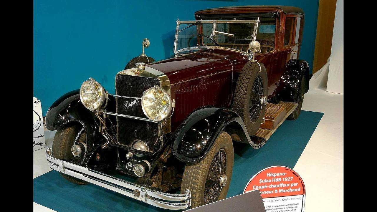 Hispano-Suiza H6B Letorneur&Marchand (1927)