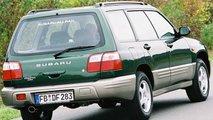 Subaru Forester, le foto storiche