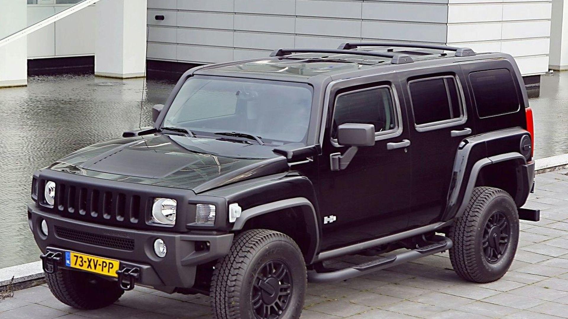 Hummer H9 Black Edition for Europe | all black hummer