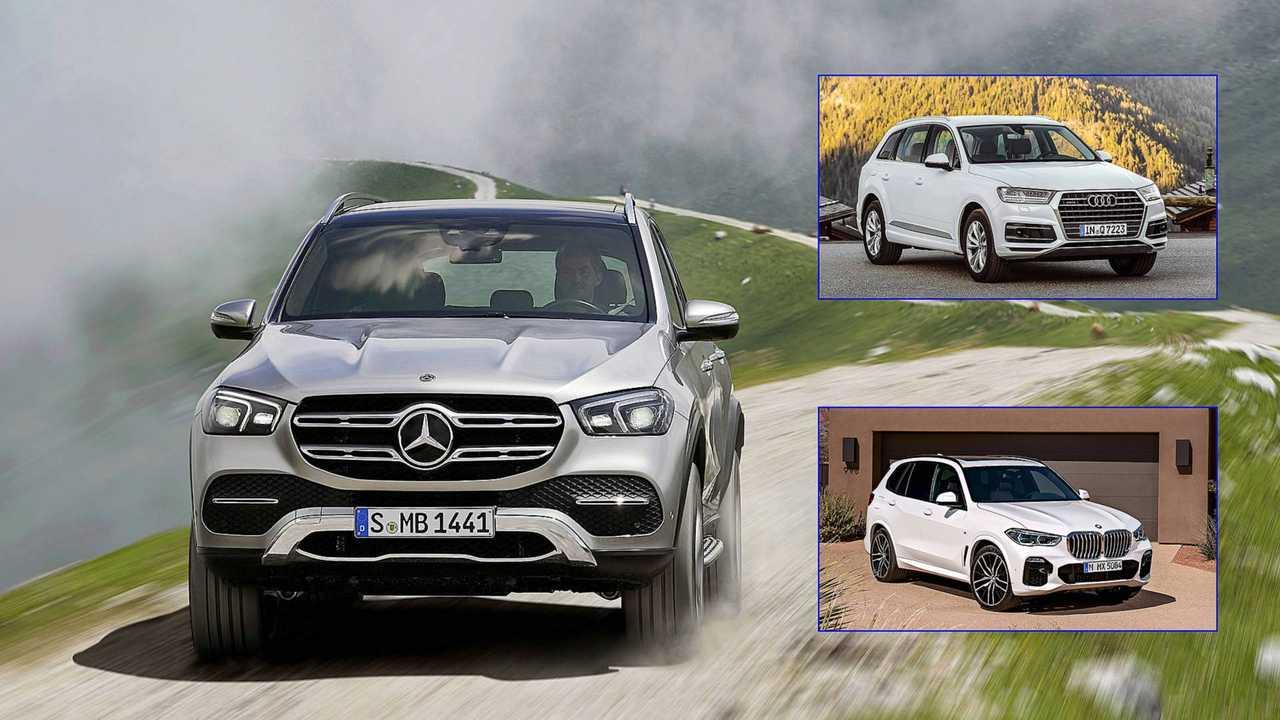 Mercedes GLE Comparo Feature