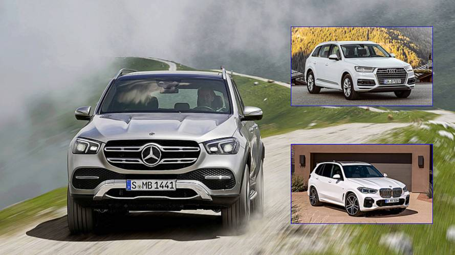 2020 Mercedes GLE: How Does It Stack Up To The Audi Q7, BMW X5?