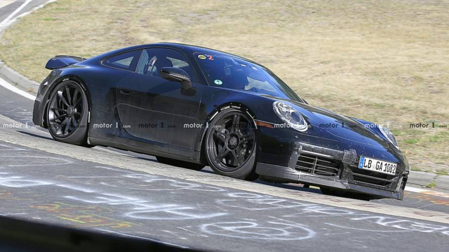 2020 Porsche 911 GT3 Caught Hugging The Nurburgring Tarmac
