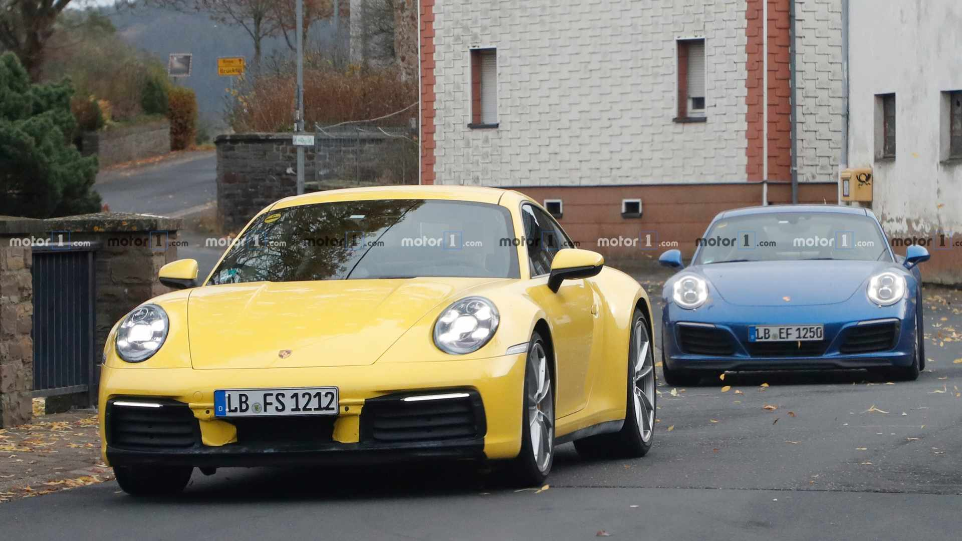 2018 - [Porsche] 911 - Page 9 Porsche-911-old-vs-news