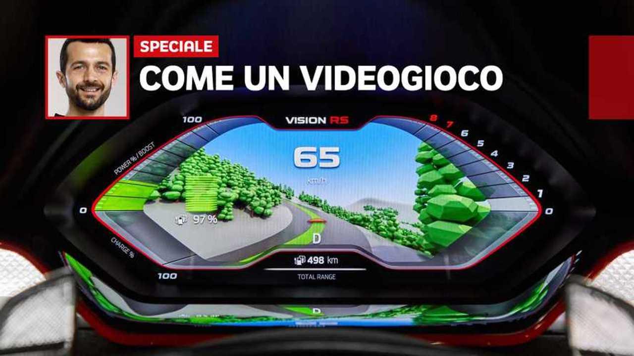 Copertina Skoda Vision RS prova