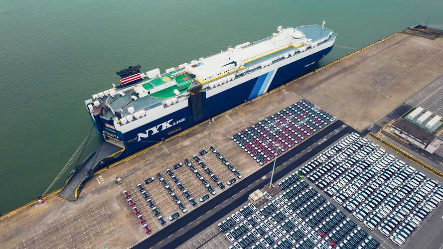 1,000th BYD Tang Sets Sail for Norway