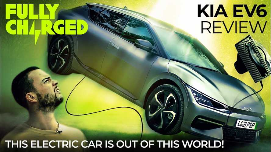 The EV6 is Kia's most important car to date, UK review claims