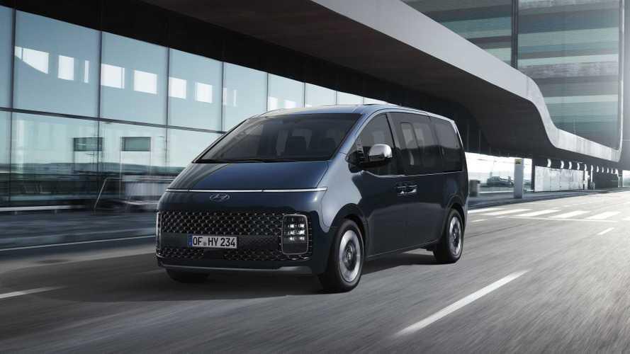 Hyundai Staria (2021): VW T7-Gegner mit Diesel ab 56.150 Euro