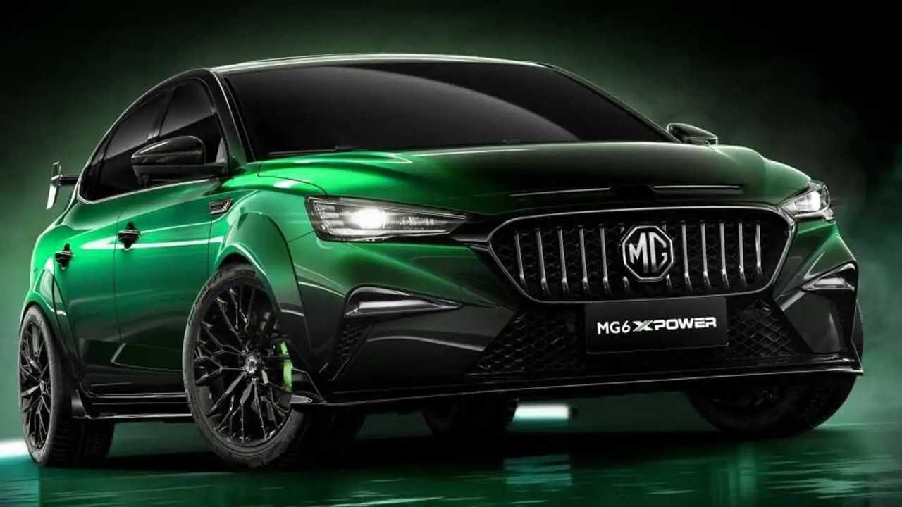 MG 6 XPower 2021 3/4 anteriore