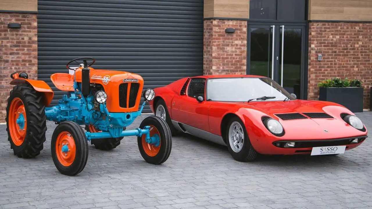 Ein komplett restaurierter Lamborghini R1 von 1966