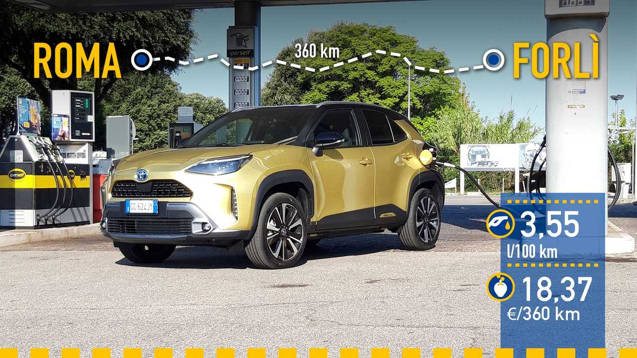 Prueba consumo Toyota Yaris Cross Hybrid 2021