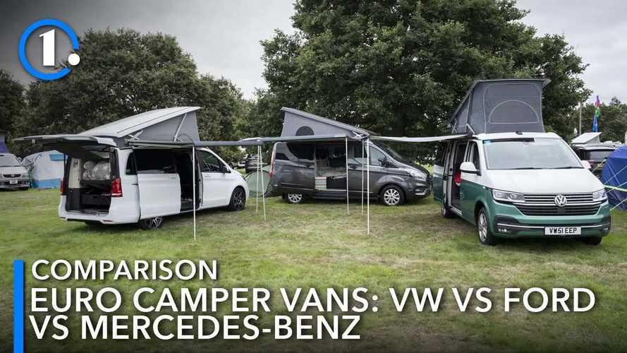 UK: Euro camper van comparison: Mercedes vs Ford vs Volkswagen