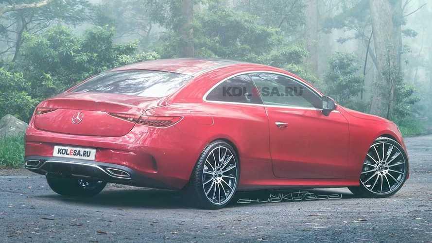 Rendering Mercedes-Benz CLE