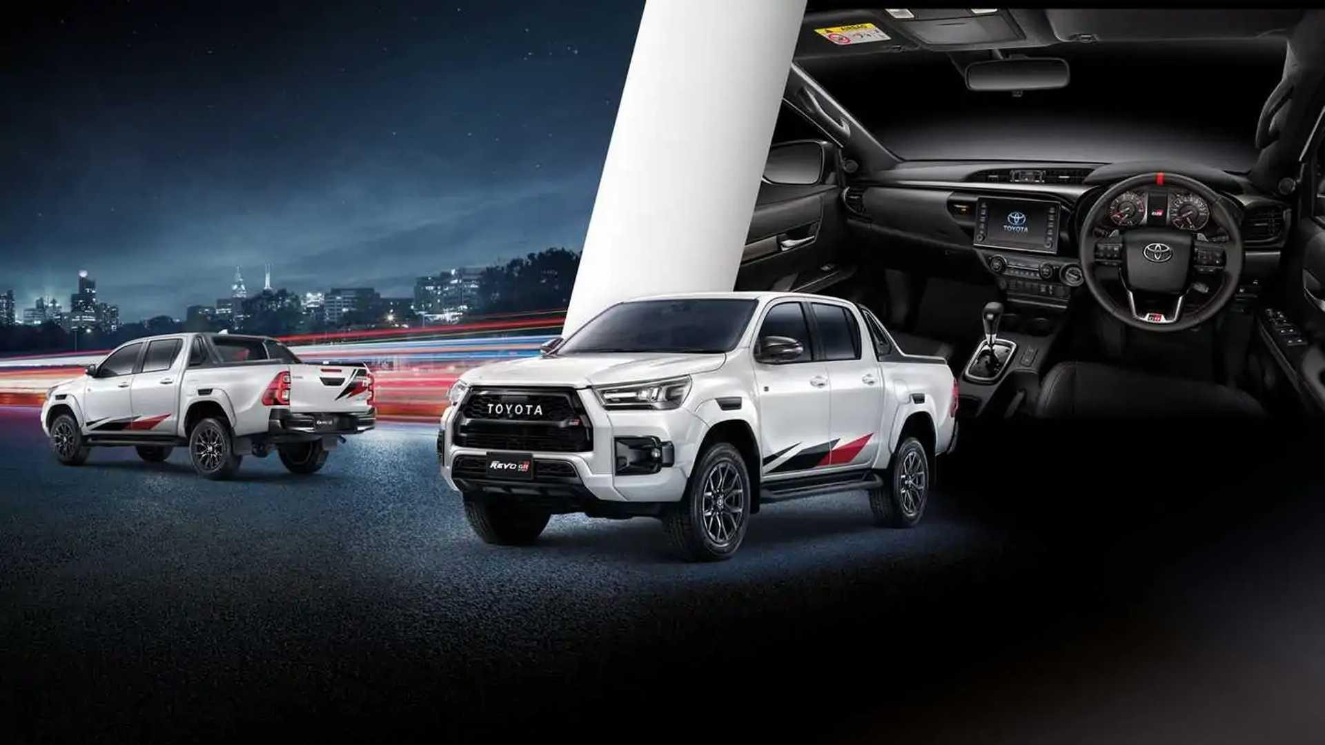 2022 Toyota Hilux Revo GR Sport High-Floor Exterior View