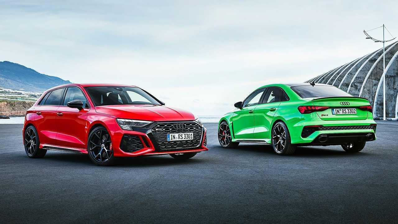 Der neue Audi RS 3 (2021) als Limousine