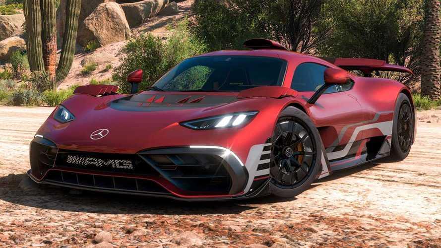 Mercedes-AMG Project One, yeni Forza Horizon videosunun başrolünde!