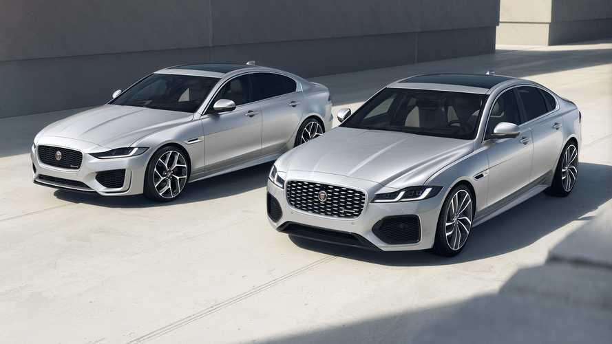 Jaguar XF und XE R-Dynamic Black