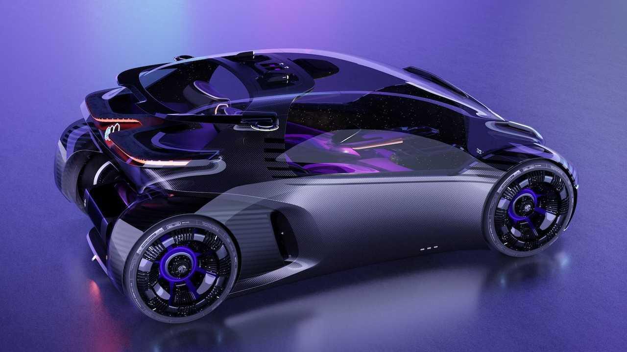MG Maze, il concept elettrico del futuro