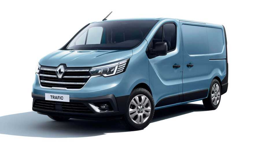 Updated Renault Trafic goes on sale in the UK priced from £25k