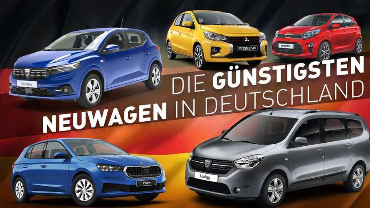 Die günstigsten Neuwagen Deutschlands im Überblick