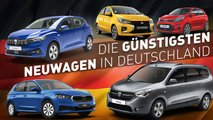 Die günstigsten Neuwagen in Deutschland: Nicht nur Dacia