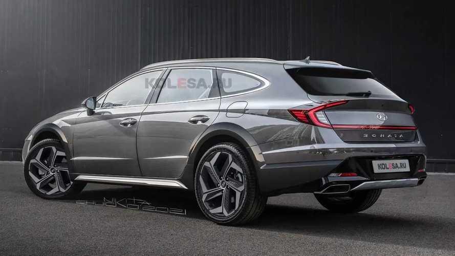 Hyundai Sonata Allroad Wagon Renderings